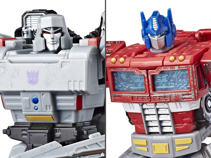 Transformers Optimus Prime Car War for Cybertron Siege Voyager Action Figure Toy