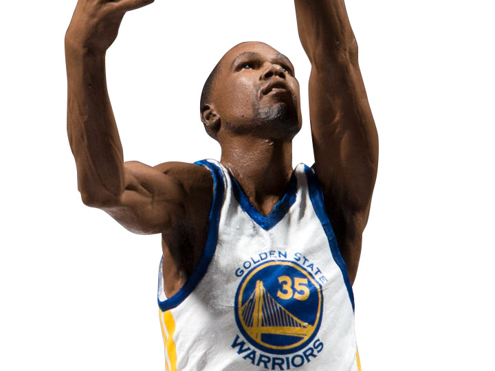 Kevin Durant McFarlane NBA 2K19 Series 1 Golden State Warriors