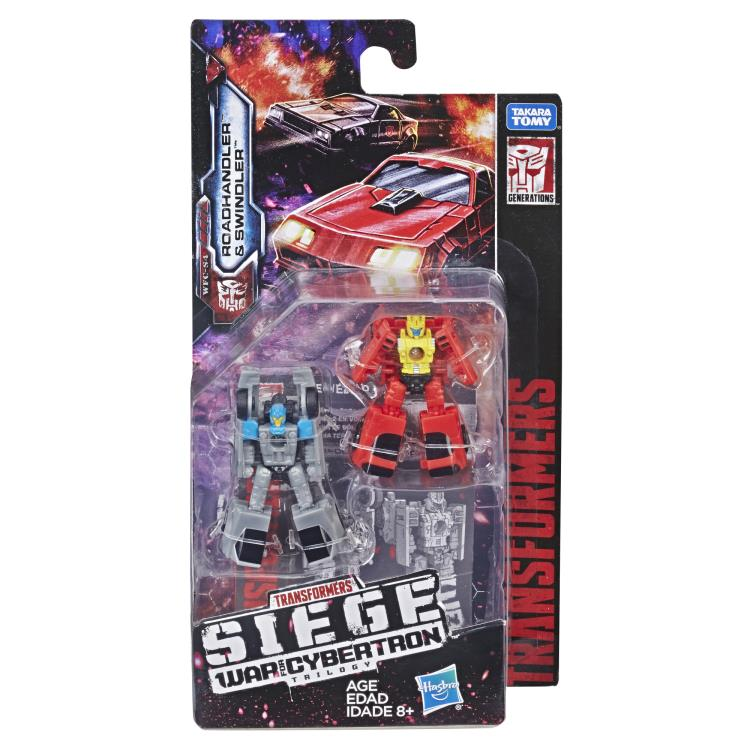 Transformers War for Cybertron Siege Micromaster Wave as shown