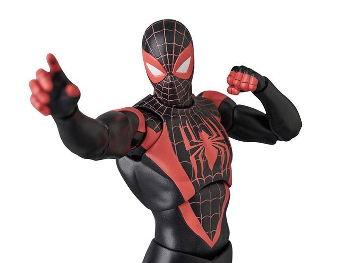 INTO THE SPIDE MAFEX Mafekkusu SPIDER-MAN Miles Morales \/'SPIDER-MAN