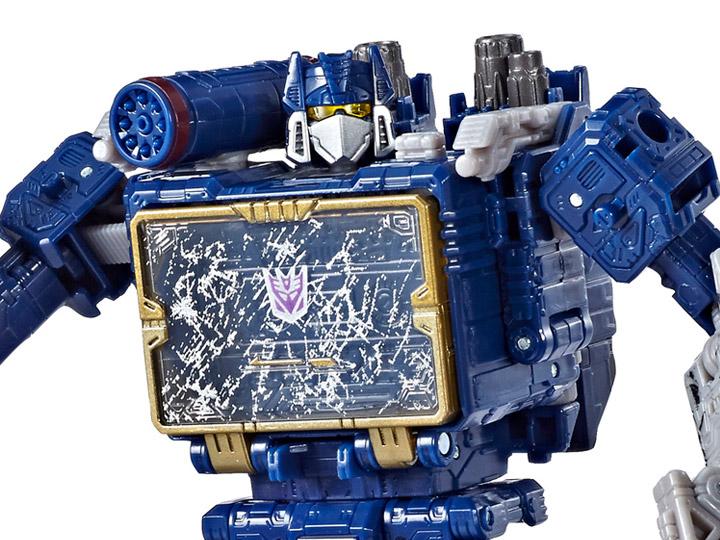Soundwave Transformers Generations Siege War for Cybertron Voyager for sale online
