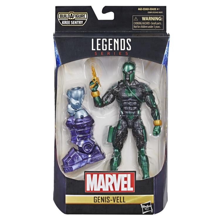 "Marvel Legends 6/"" inch Build a Figure Captain Marvel Kree Sentry Parts"