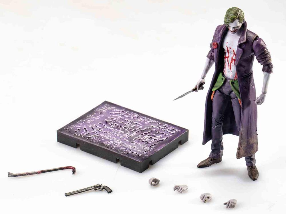 Joker Previews Exclusive Batman Injustice 2 Action Figure 1:18 Hiya Toys NEW