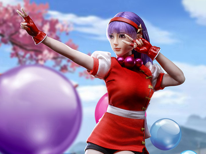 The King Of Fighters Athena Asamiya 1 6 Scale Figure