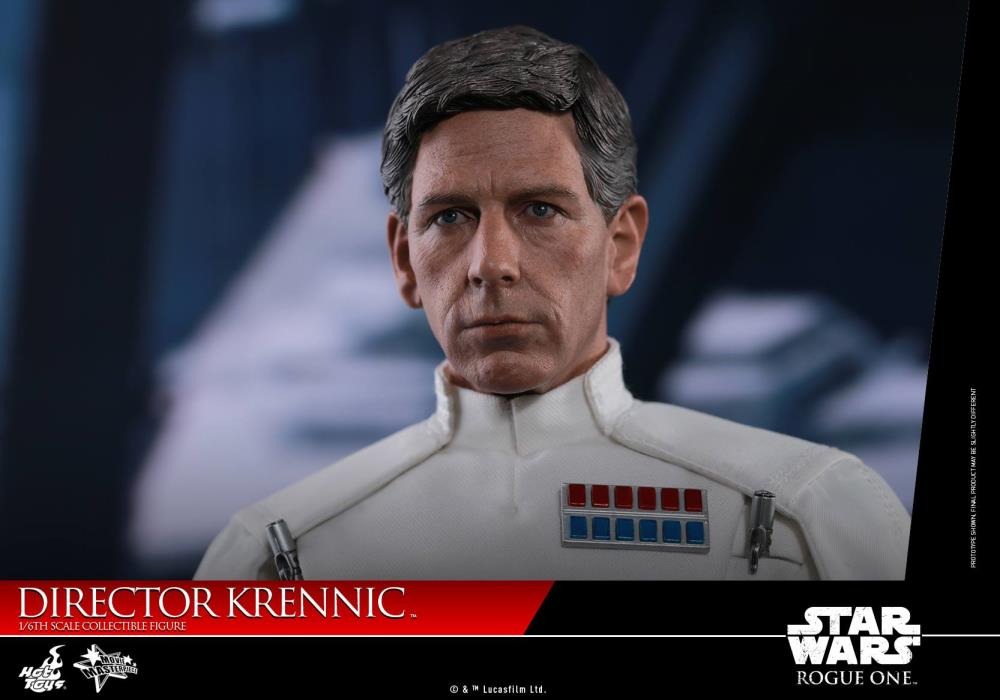 Hot Toys Star Wars R1 MMS519 Director Krennic Figure Stand loose 1//6th scale