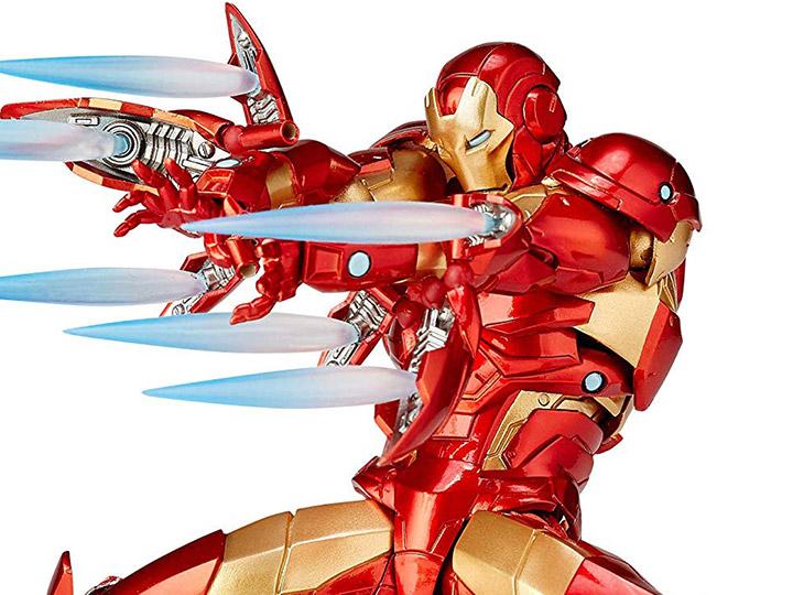 Marvel Amazing Yamaguchi Revoltech No 013 Iron Man Bleeding Edge Armor