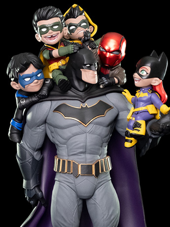 DC Comics Q-Master Batman Family BBTS Shared Exclusive Artist's Signature Edition Diorama