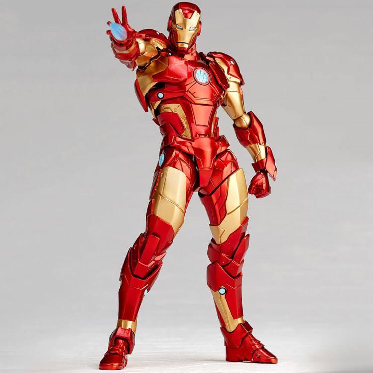 Amazing Yamaguchi Iron Man Bleeding Edge Revoltech Iron Man