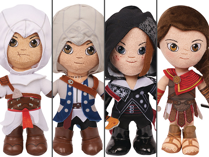 Assassin S Creed Box Of 6 Plush Figures