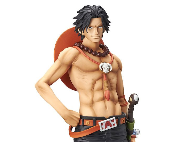 "100/% Authentic Grandista One Piece Portgas D Ace 12/"" PVC Figure Banpresto"