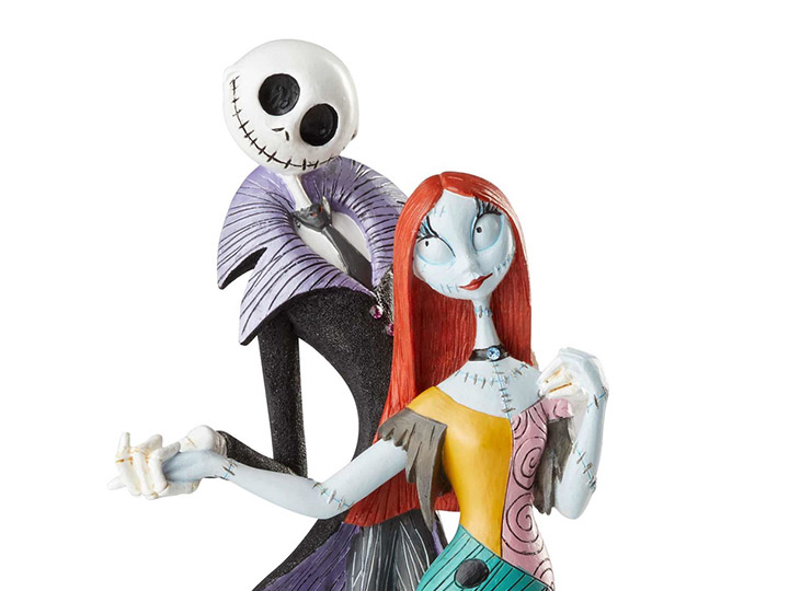 The Nightmare Before Christmas Disney Showcase Jack & Sally Deluxe Figurine