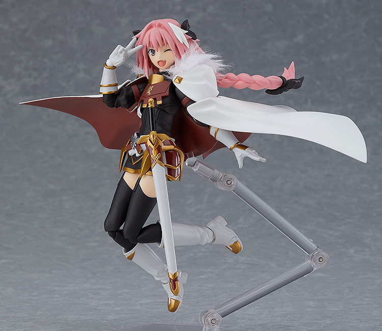 """Figma #423 Astolfo /""""Rider of Black/"""" Fate// Apocrypha Action Figure Max Factory"""