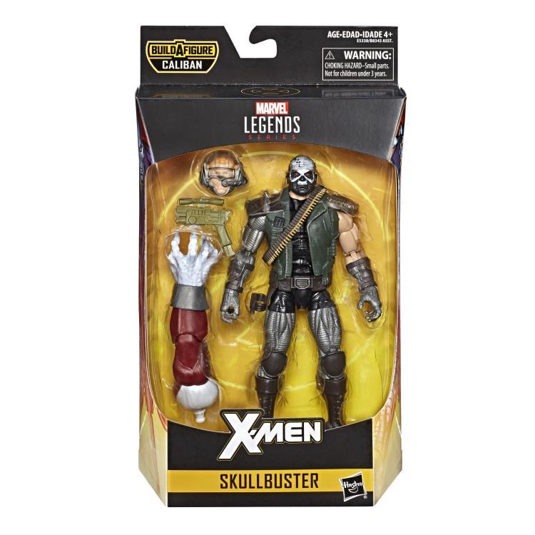 Marvel Legends X-Men Series Skullbuster Caliban BAF