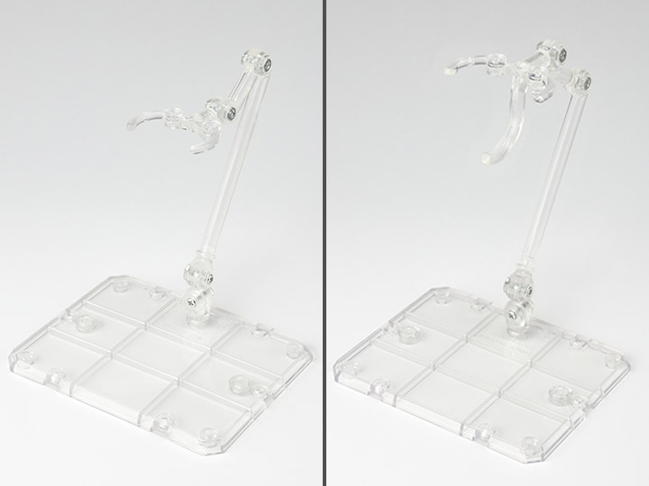 Bandai Tamashii Nations Stage Figure Stand Act 4 for Humanoid Clear Stand 2 pz