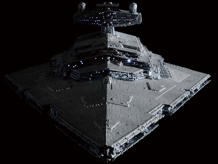 Star Wars Destroyer A New Hope 1 5000 Scale Lighting