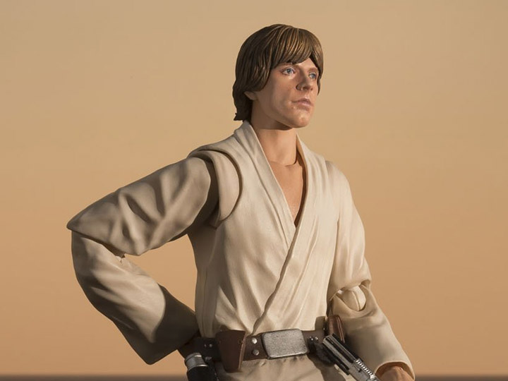 BANDAI S.H.Figuarts Star Wars Luke Skywalker Action Figure