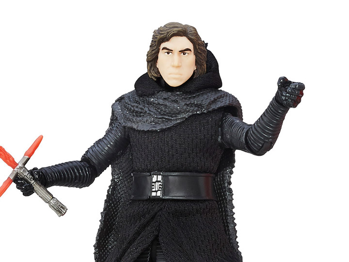 "In Stock Star Wars the Black Series KYLO REN UNMASKED 6/"" Figure Force Awakens"