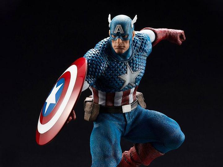 Kotobukiya Marvel Figurine Artfx+ Captain America