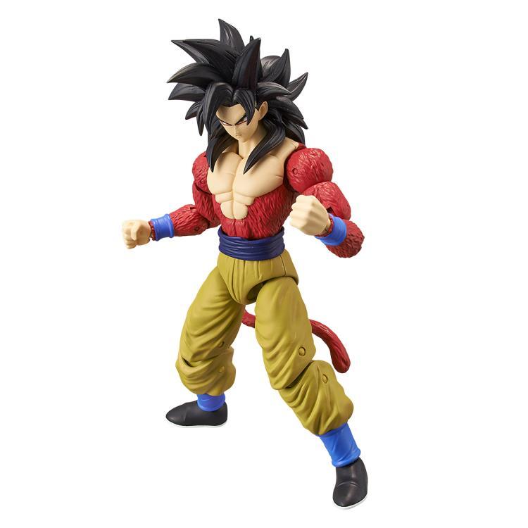 "Anime Dragonball Z Dragon ball DBZ SS4 Super Seiyan 4 Gogeta action figure 5.5/"""