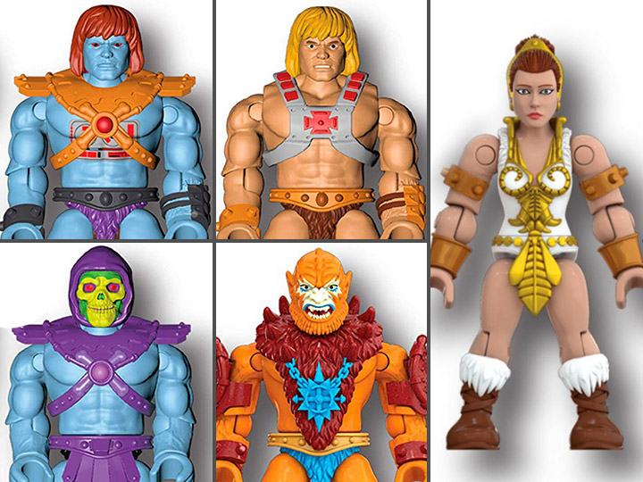 MEGA CONSTRUX HE-MAN MASTERS OF THE UNIVERSE BATTLE FOR ETERNIA COLLECTION NEW!!