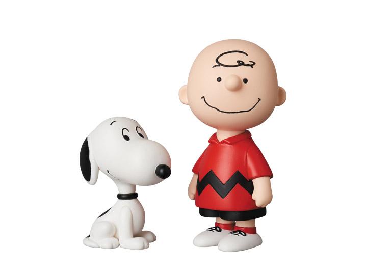 Ultra Detail Figure UDF Peanuts Hug Snoopy /& Woodstock Medicom Toy
