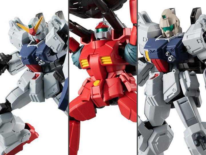 Mobile Suit Gundam G Frame 06 6 action figure set Bandai Shokugan
