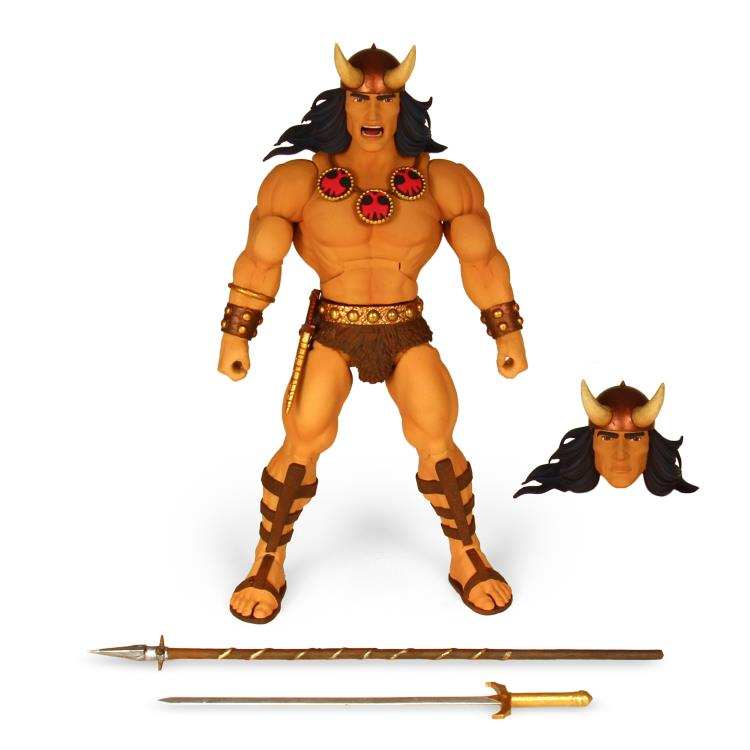 Super7 Ultimate Comic Conan the Barbarian with Bloody Accessories Action Figure