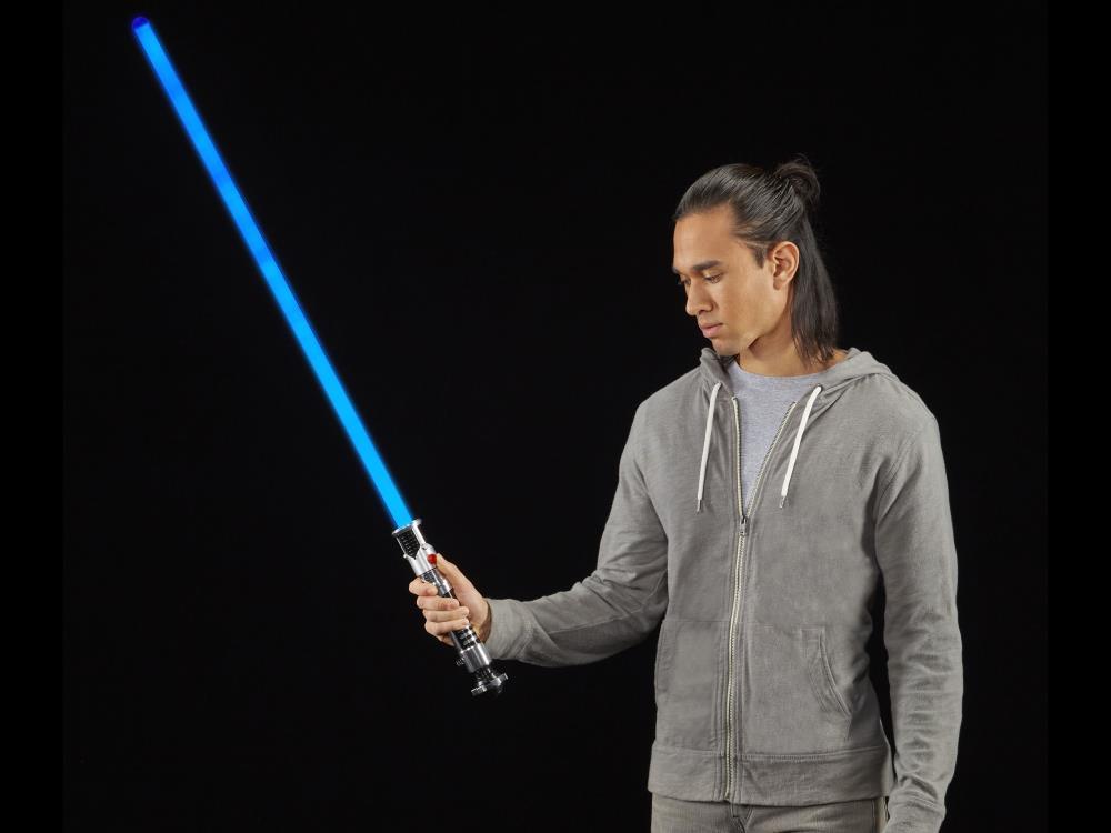 Force FX Sabre Laser Star Wars Obi-Wan Kenobi menace fantôme TBS Série Black Comme neuf IN BOX