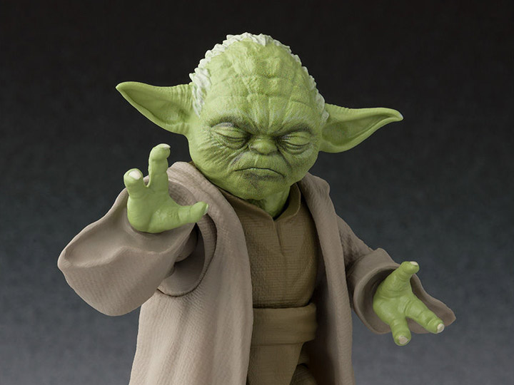 Star Wars S H Figuarts Yoda Revenge Of The Sith Exclusive