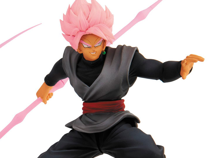 Bandai Dragon Ball DBZ Collechara 2 Figure Gashapon SS Rose Goku Black