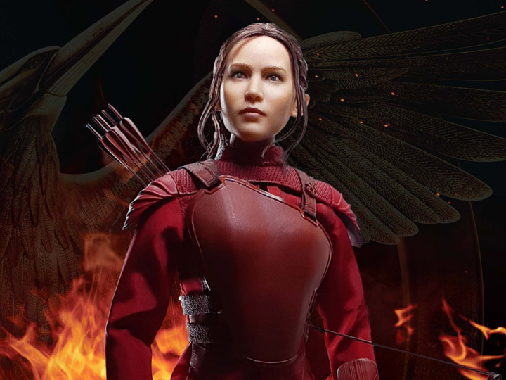 The Hunger Games Mockingjay Katniss Everdeen Red Armor 1 6
