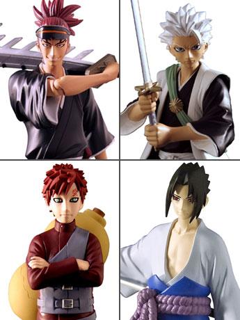 Naruto Shippuden & Bleach Viz Collection Series 2 Set of 4
