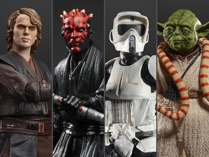 Star Wars The Black Series Archive Collection Wave 2 Set Of 4 Figures