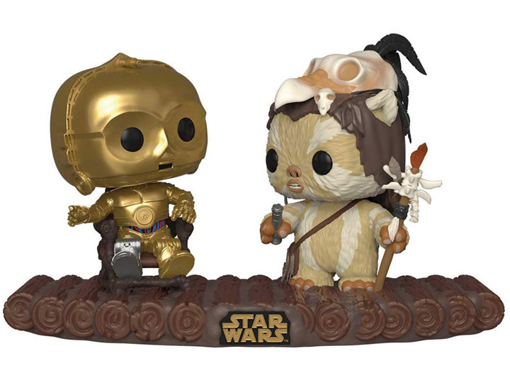 Encounter on Endor Movie Moment Pop Star Wars Vinyl-FUN37593