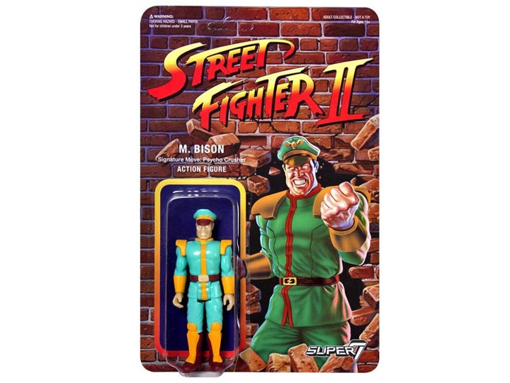 Street Fighter Ii 3 75 Retro Action Figure Champion Edition M Bison