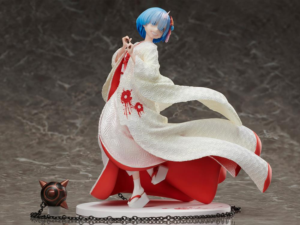 Rem OniYome 1//7 Scale Figure *NEW* Re:Zero Starting Life in Another World