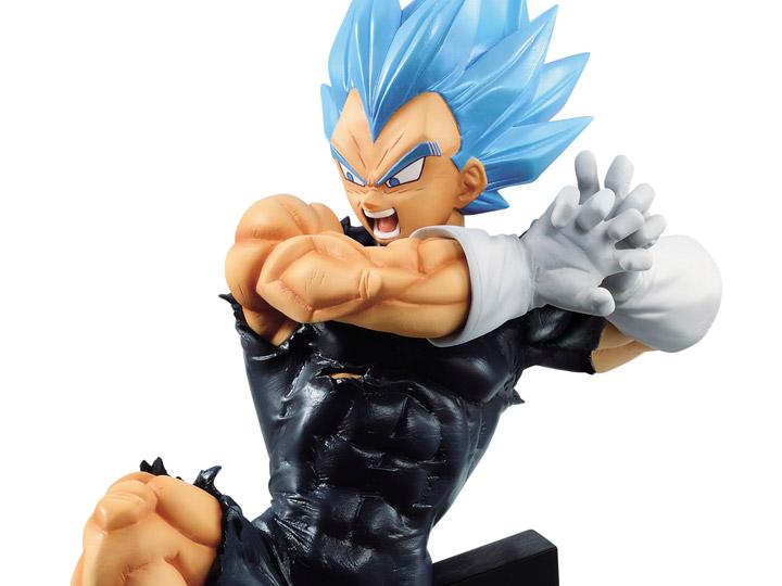 Goku y Vegeta Blue SSGSS TAG FIGHTERS Banpresto figura Anime DRAGON BALL SUPER