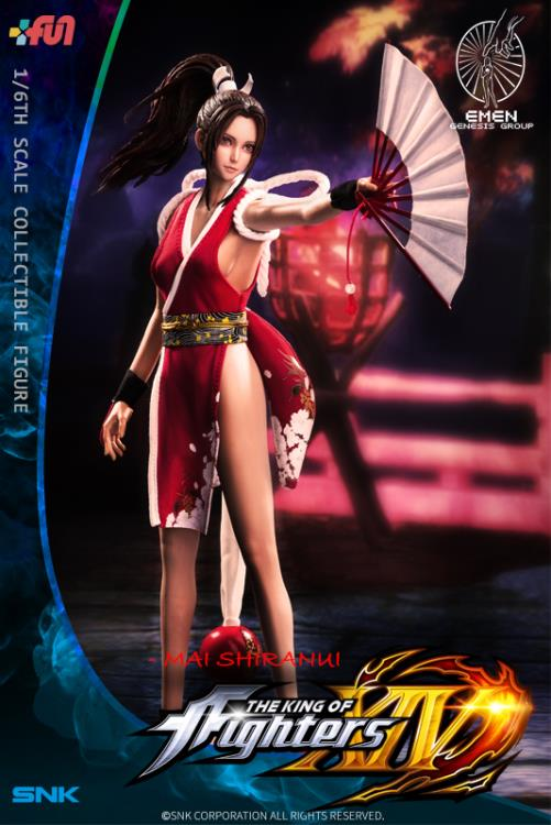 The King of Fighters XIV KOF Mai Shiranui 1//6 Figure New Anime Toy nobox HOT!!