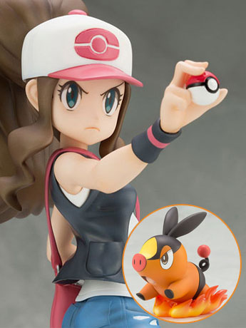 Pokemon ArtFX J Hilda with Tepig Statue