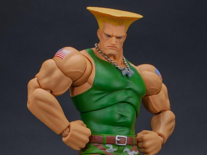 Street Fighter Ii Guile 1 12 Scale Figure