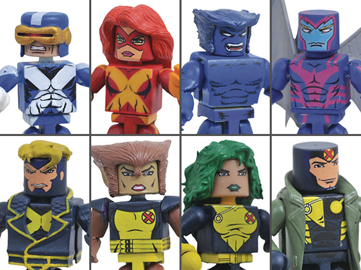 Marvel Minimates Series 78 X-Factor Strong Guy BAF Build-a-Figure