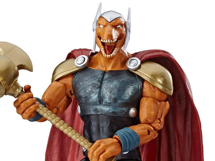 Marvel Legends souriant tête pour Smart professeur Hulk BAF BETA RAY BILL