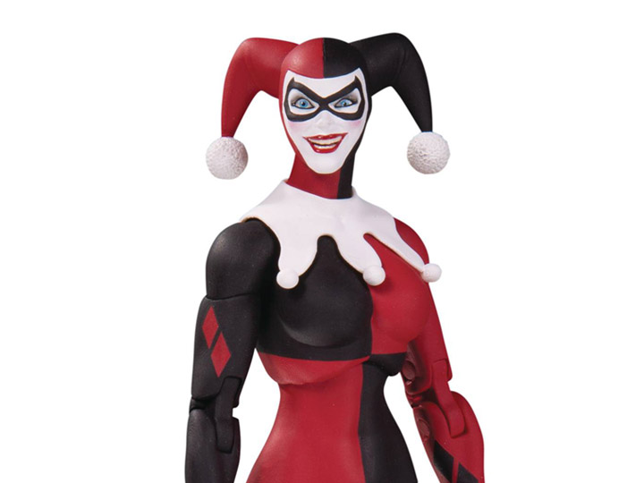 DcComics 7 Inch Harley Quinn Action Figure DC Essentials