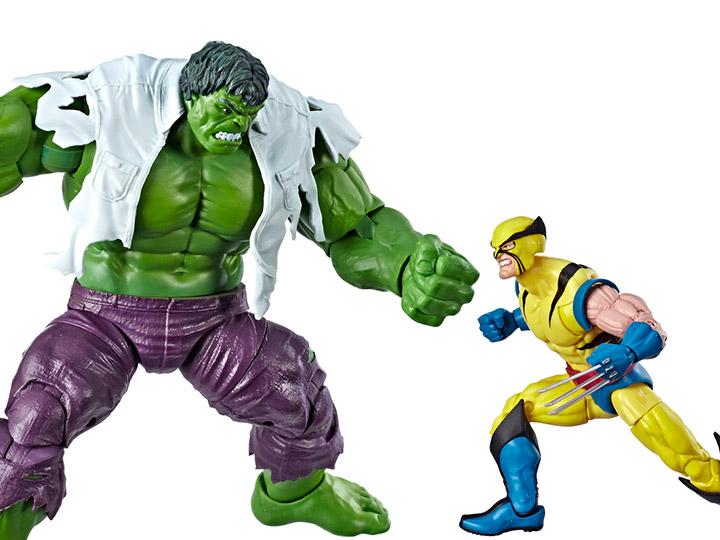 "Marvel Legends 80th Anniversaire Hulk Vs Wolverine 2 Pack 6/"" Figure Set Brand New"