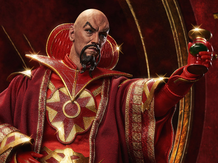 Flash Gordon 40th Anniversary Ming the Merciless 1/6 Scale Limited ...
