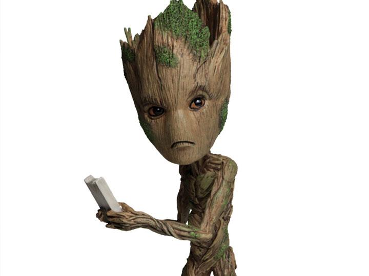 NECA Avengers Infinity War Groot Head Knocker
