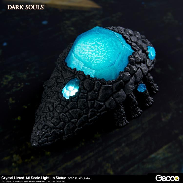 Dark Souls 1//6 Scale Crystal Lizard Light-up Statue PVC Figure New In Box 13cm