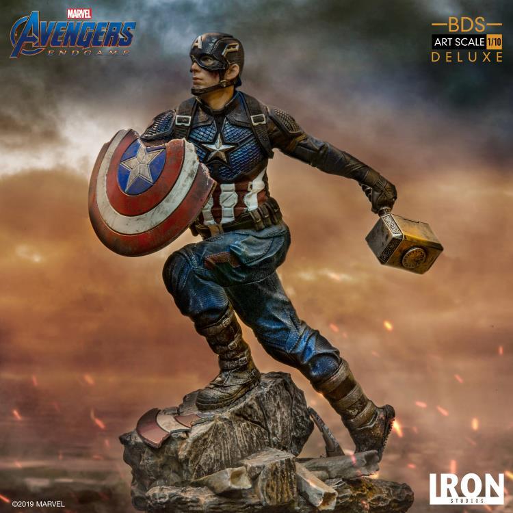 Marvel/'s Captain America custom cardées figurine Display Mini-Figure Endgame