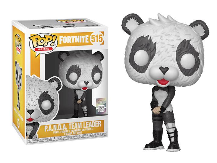 POP Fortnite Game Panda Team Leader Funko Pop Vinyl Character Figure