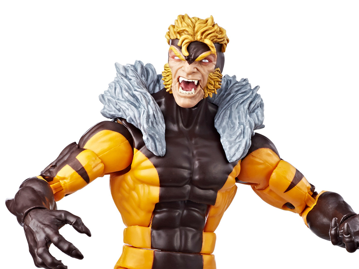 X-Men Marvel Legends Series 6-inch Sabretooth Apocalypse BAF